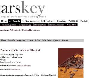 arskey (on line) 25 maggio 2006