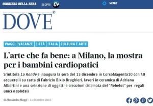 DOVE Corriere della Sera 11 dicembre 2015